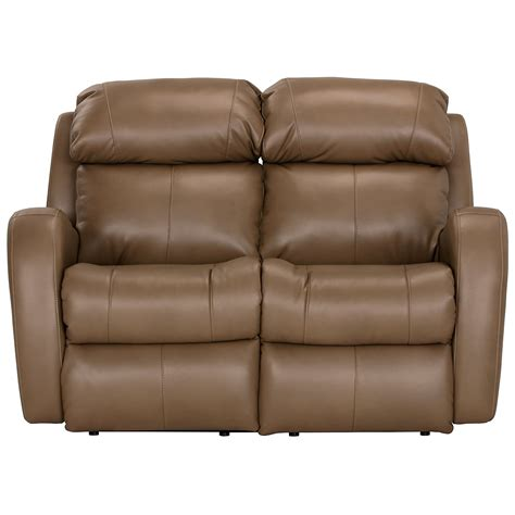 Microfiber Reclining Loveseat by City Furniture Finn Brown Microfiber Reclining Loveseat