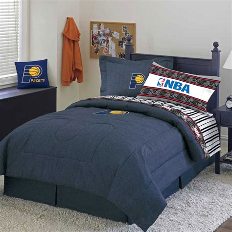 Size Comforter Dimensions by Indiana Pacers Blue Team Denim Size Comforter Sheet Set