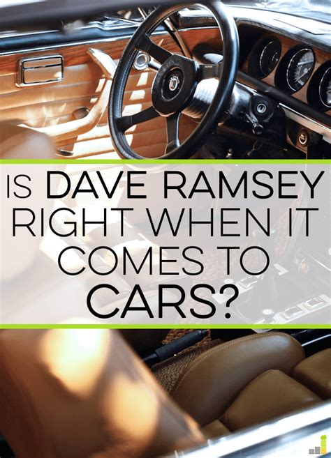 dave ramsey should i buy a boat is dave ramsey right when it comes to cars frugal rules