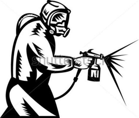 spray painter clipart ilustra 231 227 o de um pintor de spray no trabalho imagem