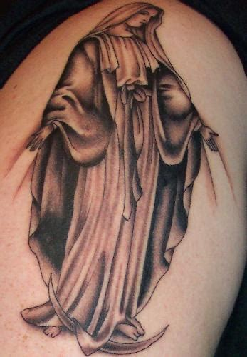 the virgin mary tattoo designs amiable