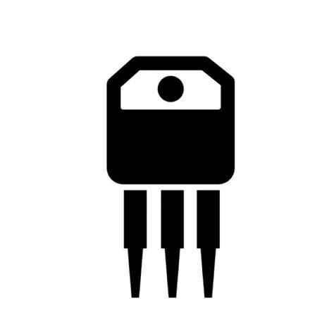 transistor vector transistor icons free