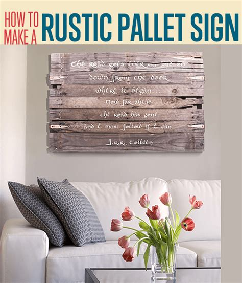 how to make home decor signs how to create a wall art sign diy projects craft ideas
