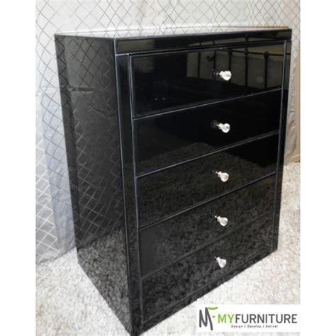 black mirrored bedroom furniture my furniture au vegas black glass tallboy mirror furniture