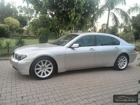 how make cars 2003 bmw 745 parking system bmw 7 series 745li 2003 for sale in lahore pakwheels