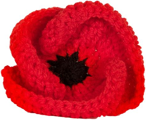 knitting pattern red poppy gchq helps launch rbl gloucestershire poppy appeal 2016