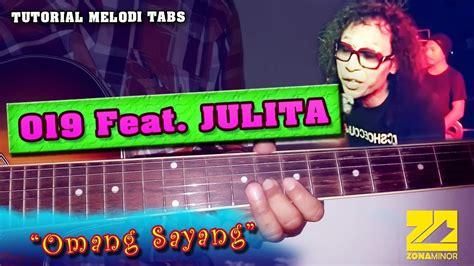 tutorial gitar zona nyaman tutorial melodi kunci gitar 019 feat julita omang
