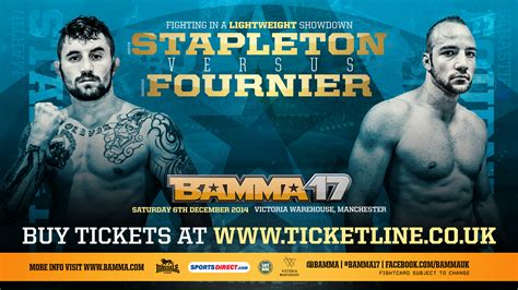 paul bentley mma fournier and bentley step in at bamma 17