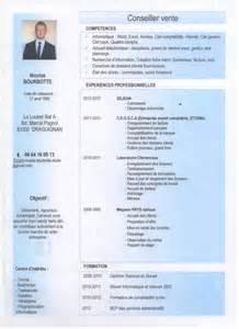 Resume Examples 2017 by Cv Conseiller Vente Nicolas Bourbotte 187 Le Club Des