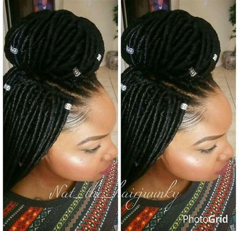 crochet locs hairstyles faux loc crochet braid proctective styling hairstyles