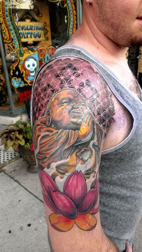 da buddha all props to jay alvarez at revolution tattoos