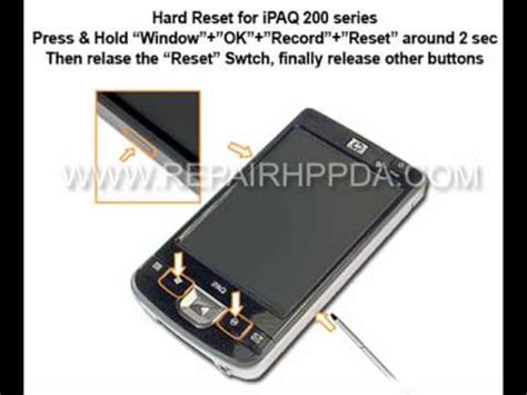 hard reset hp deskjet d2460 how to soft hard reset for hp ipaq 210 211 212 214