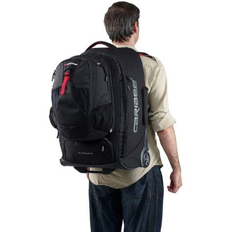 caribee sky wrangler  wheeled backpack  detachable