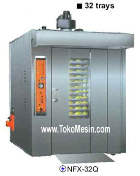 Mesin Rotary Oven jual mesin combi deck oven proofer di bandung toko