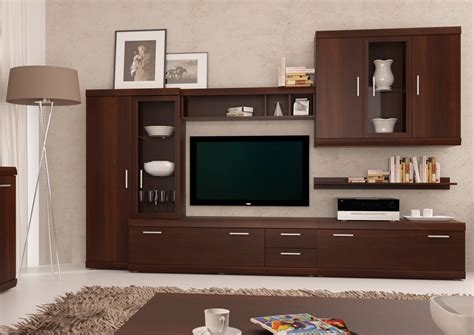 Wall Units For Living Room Uk by Imperial Walnut Entertainment Center Imperial 1 Furnish