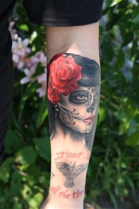 bugaboo tattoos 45 gorgeous day of the dead tattoos tattoodo