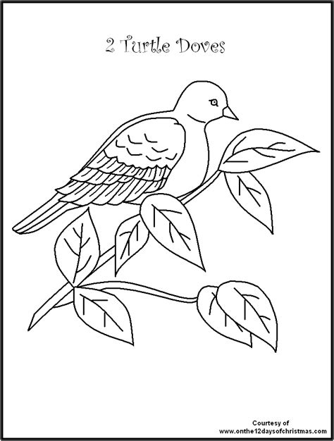 12 days of christmas coloring coloring pages