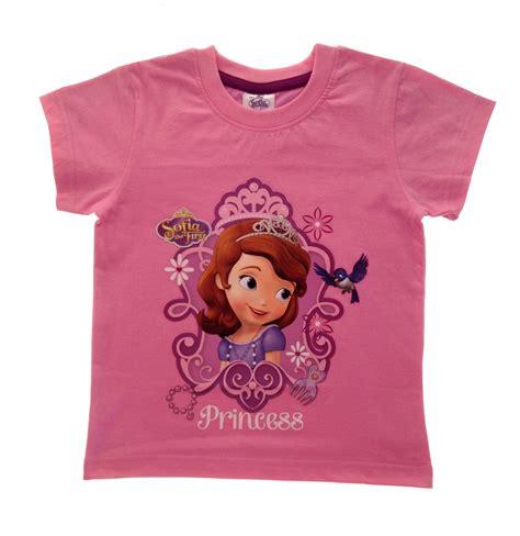 T Shirt Shoes Cloth disney princess sofia the summer tops t shirts size uk 2 8 years ebay