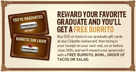Purchase Chipotle Gift Card - arizona families chipotle get a free burrito with gift