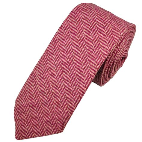 light blue wool tie fuchsia light pink herringbone tweed wool tie from ties