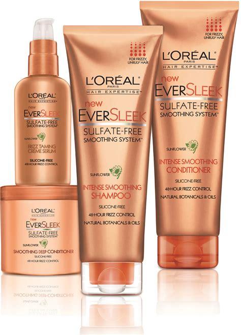 loral paris hair expertise eversleek smoothing l or 233 al paris hair expertise join the sulfate free