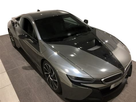 Graphic Wall Murals bmw i8 black chrome wrap universal graphix