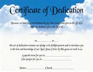 Religious Certificate Templates Pics Photos Free Baby Dedication Certificate