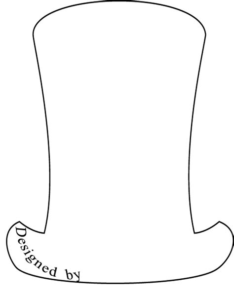 dr seuss hat template free coloring pages of cat in the hat fish