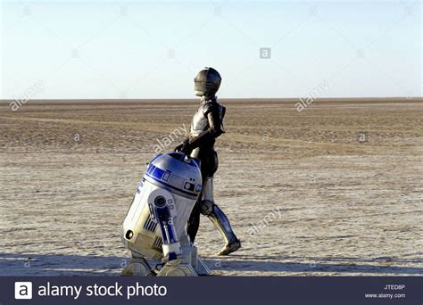 anthony daniels attack of the clones anthony daniels as c 3po film title star wars stock photos