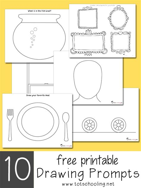 R Drawing Prompts by 10 Creative Activities Totschooling Toddler