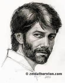 bearded man 1 hr speed drawing by zeldat on deviantart