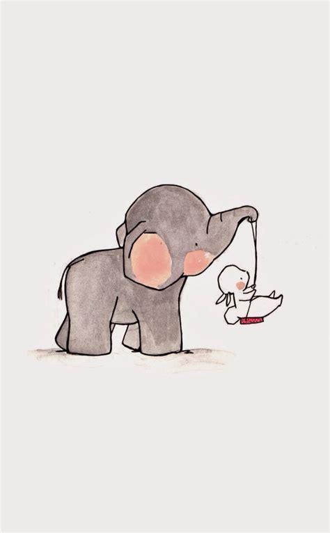 elephant wallpaper pinterest image result for baby elephant looking back illustration