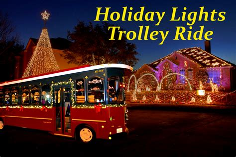 boat club happy hour happy hour ollie the trolley holiday light tour events
