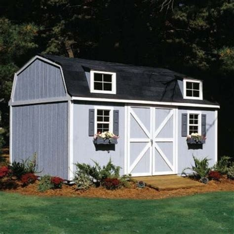 10 X 16 Storage Shed by Handy Home Berkley Storage Shed 10 X 16 Ft Modern Sheds By Hayneedle