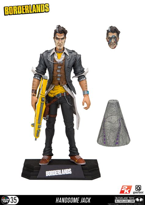 Mcfarlane Borderlands 2 Handsome new photos of borderlands 2 handsome figure by mcfarlane the toyark news