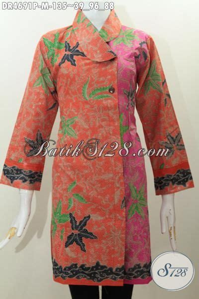 desain baju kerah online jual online baju dress terkini busana batik trendy desain