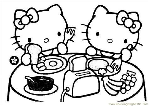 coloring book pages online hello kitty coloring pages online bebo pandco
