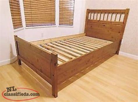 ikea twin bed frame solid wood with headboard ikea hemnes solid wood twin bed mattress paradise