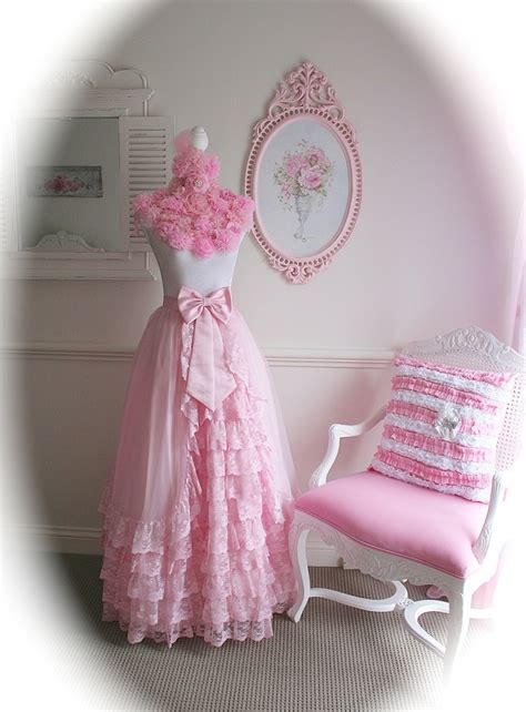 my beautiful pink dress form i made my pink and shabby