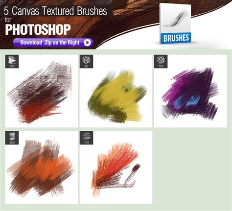 brushes for photoshop 5 canvas textured photoshop brushes by pixelstains on