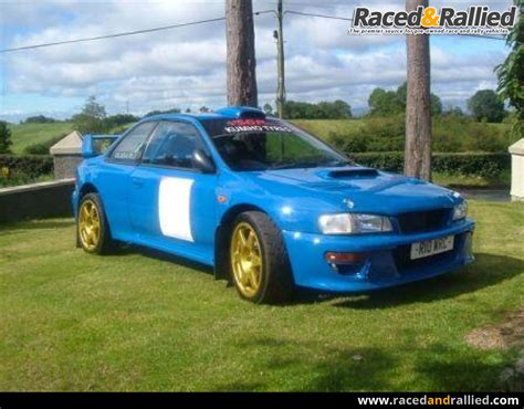 subaru wrc for sale subaru impreza wrc rally cars for sale at raced