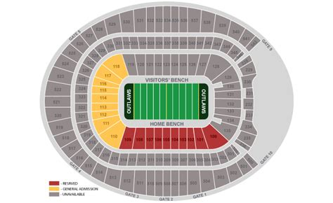 mile one centre floor plan sports authority field at mile high denver co seating