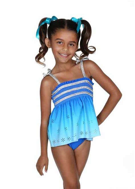 silver modz girls models pics part 2 hula star summer breeze blue silver smocked tankini