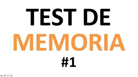 test memoria test de memoria tienes buena memoria 1