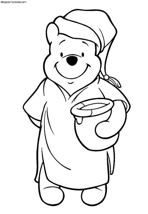 imagenes de winnie pooh en la nieve dibujos de winnie the pooh para colorear