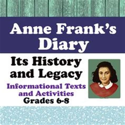 anne frank biography and questions anne frank diary of a young girl project ideas