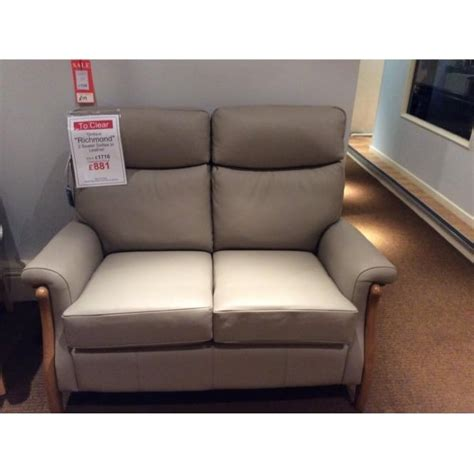 Cintique Richmond 2 Seater Leather Sofa Clearance Leather Sofa On Clearance