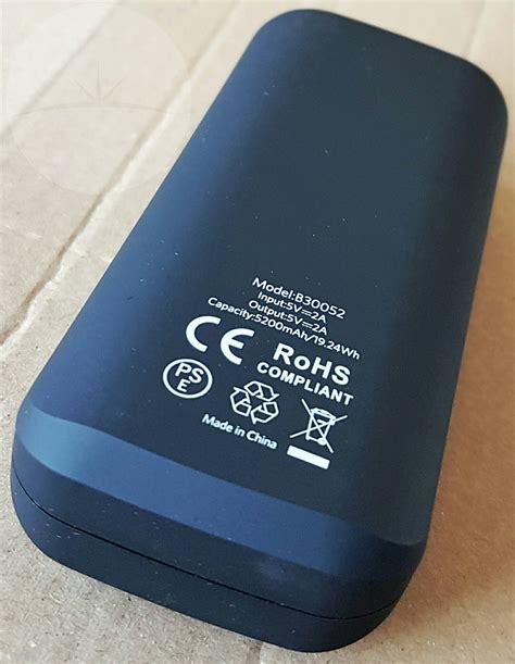 Power Bank Changhong 5200mah review ec technology 5200mah power bank