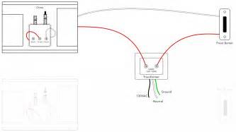 doorbell wiring diagrams diy house help