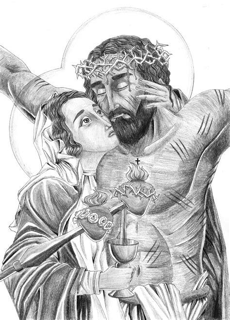 dibujos a lapiz de cristo dibujos a lapiz sagrado corazon de jesus a lapiz imagui